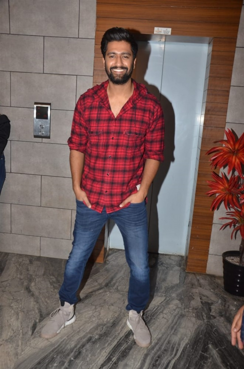 Vicky Kaushal & Yami Gautam Attend Uri Success Party Photos
