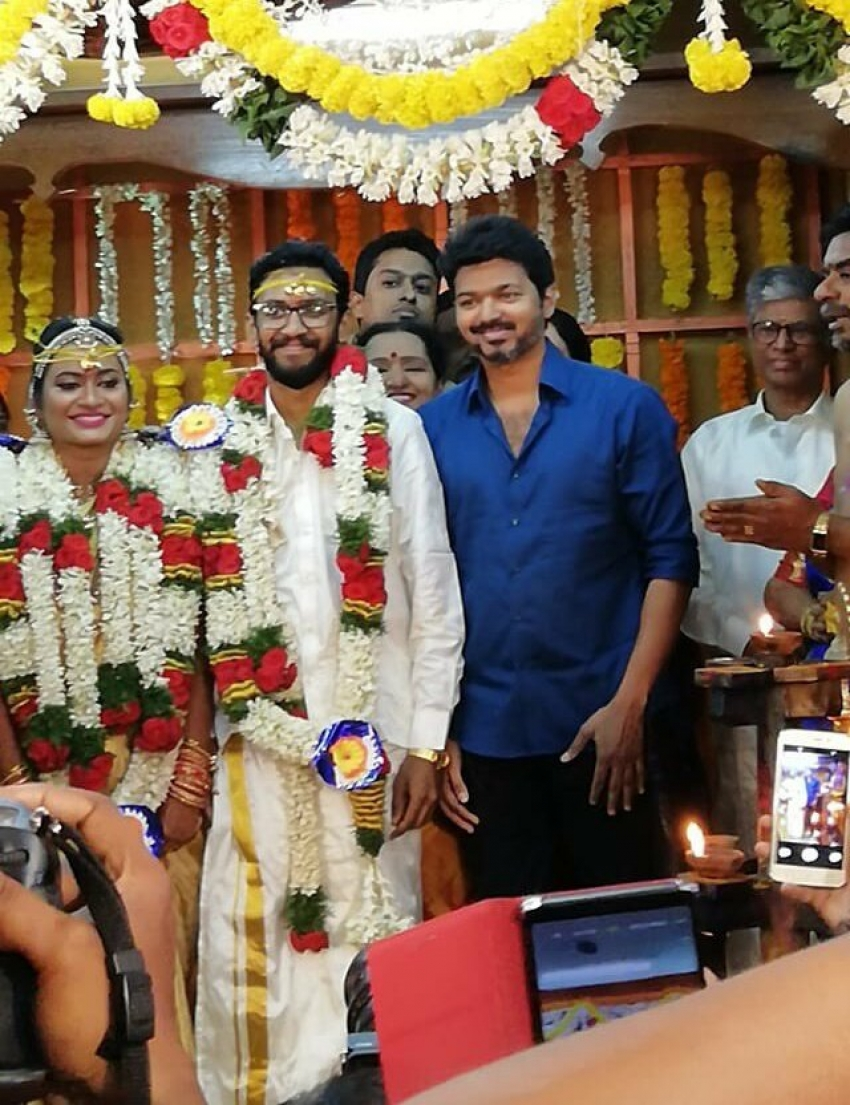 Vijay Assistance Director Karthik Sundar Marriage Function Photos