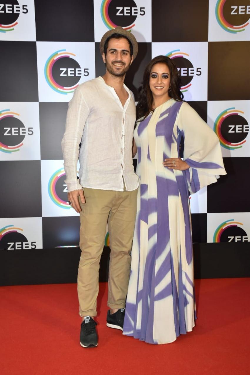 Zee5 Anniversary Celebrations 2019 Photos