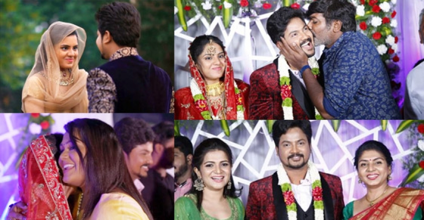 Actor Azhar Wedding Reception Photos
