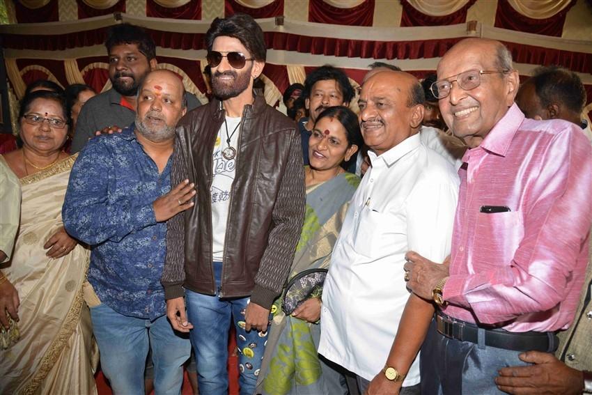 Adisidaata Movie Pooja and Press Meet Photos