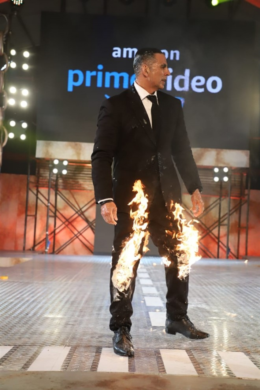 Akshay Kumar At The Launch Of His Amazon Prime New Web Series Photos