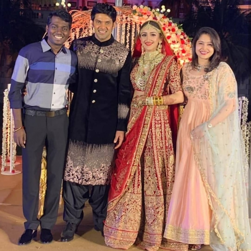 Arya And Sayyesha Saigal Wedding Photos