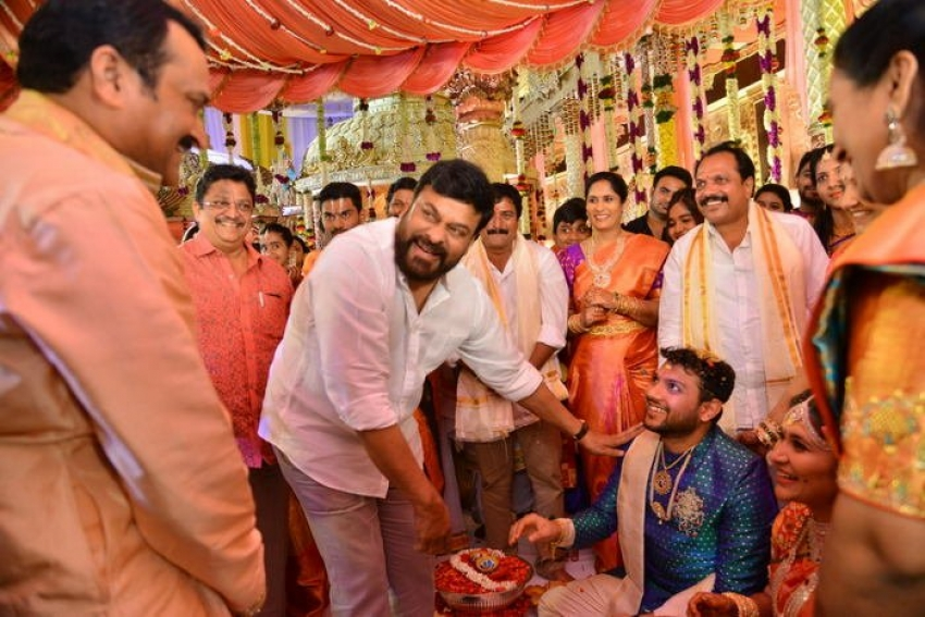 Bandla Ganesh Brothers Son Wedding Photos