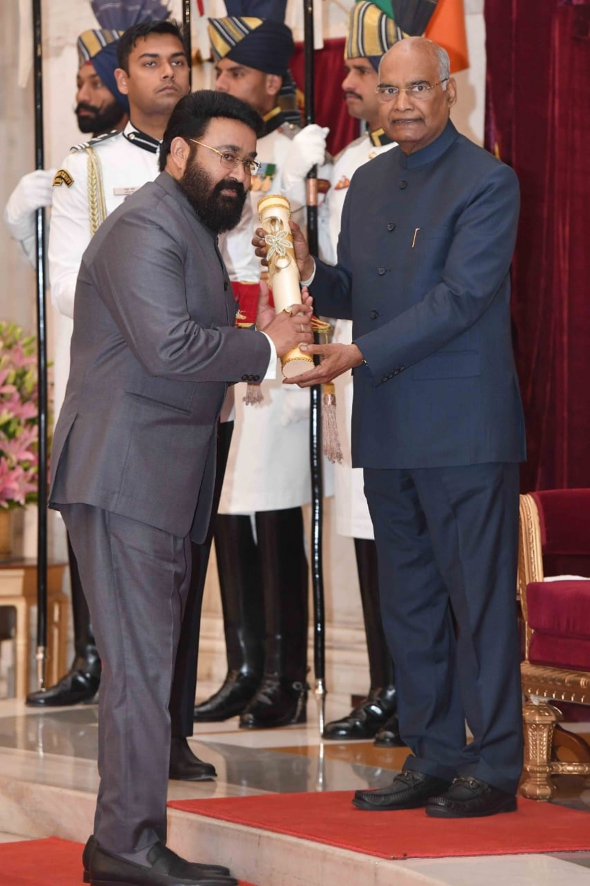 Celebs Who Received Padma Awards 2019 Photos
