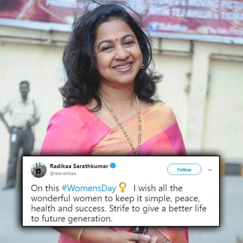 Celebs Who Wished On The Special Occasion Of Women's Day 2019 Photos