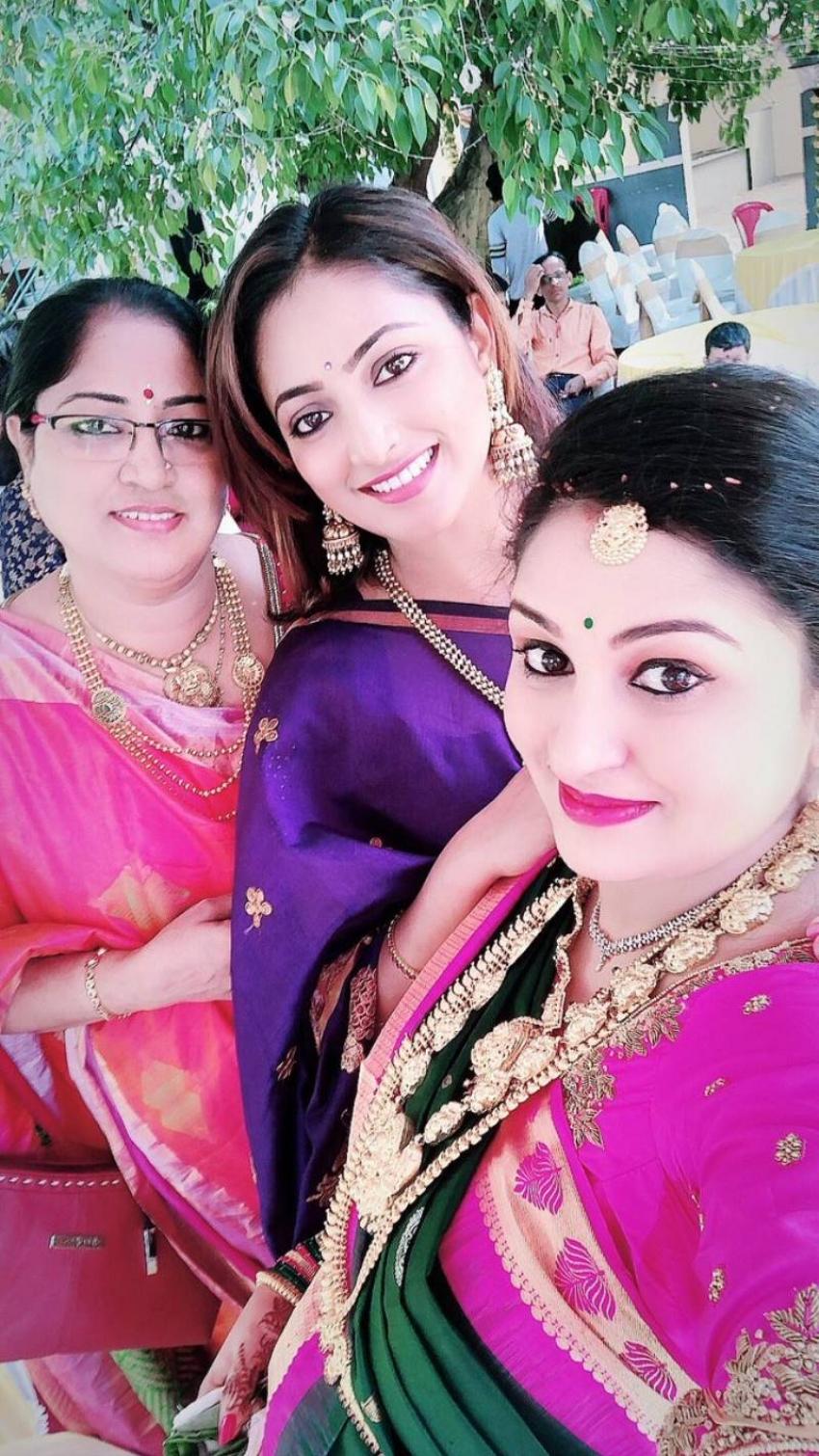 Director Rishab Shetty Wife Pragathi Shetty Baby Shower Photos