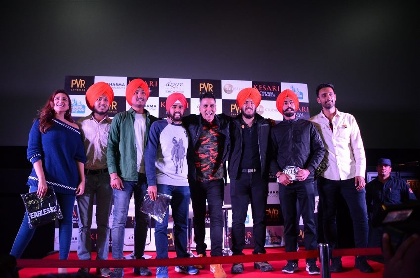 Kesari Movie Promotion In New Delhi Photos