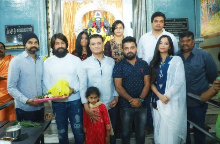 KGF Chapter 2 Movie Muhurtha Photos