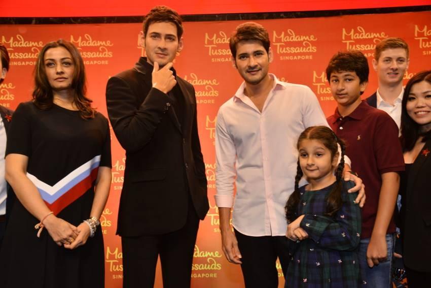 Mahesh Babu Madame Tussads Wax Statue Launch At AMB Theatre Photos