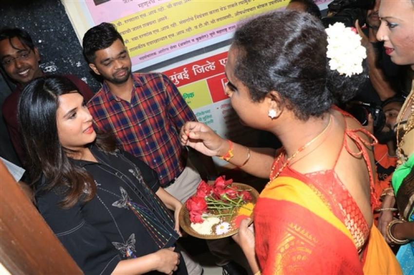 Richa Chadda inaugurates India's first LGBTQ clinic Photos
