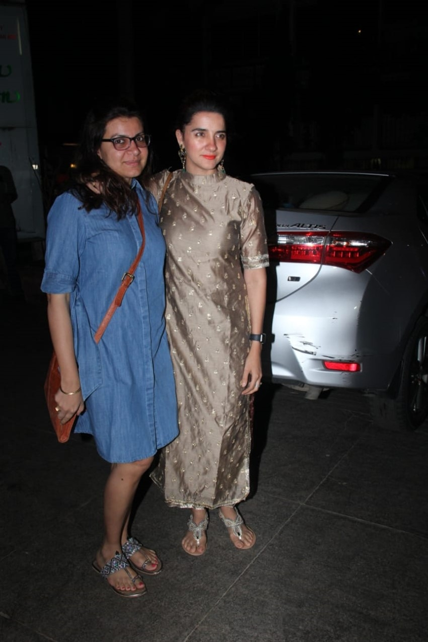 Rohini Iyer hosts a party for Guneet Monga celebrating her Oscar win Photos