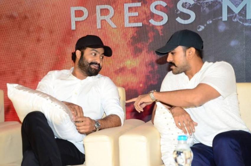 RRR Movie Press Meet Photos
