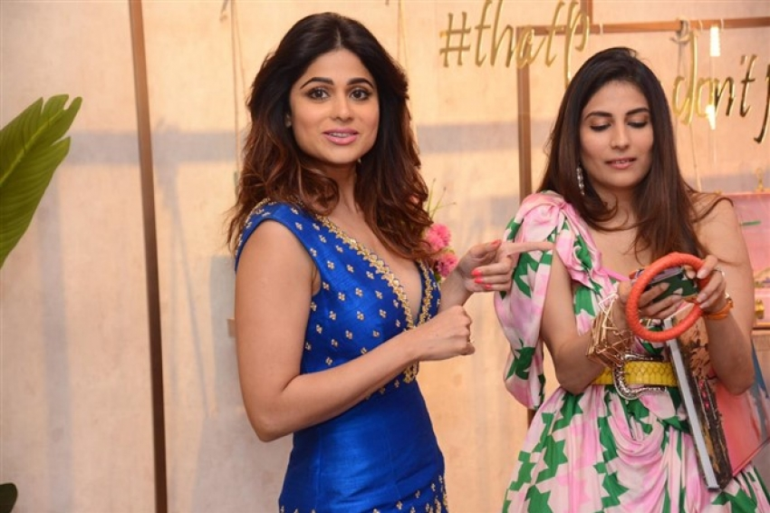Shamita Shetty, Amrita Puri & Amruta Khanvilkar At Pernia's Pop Up Studio Photos