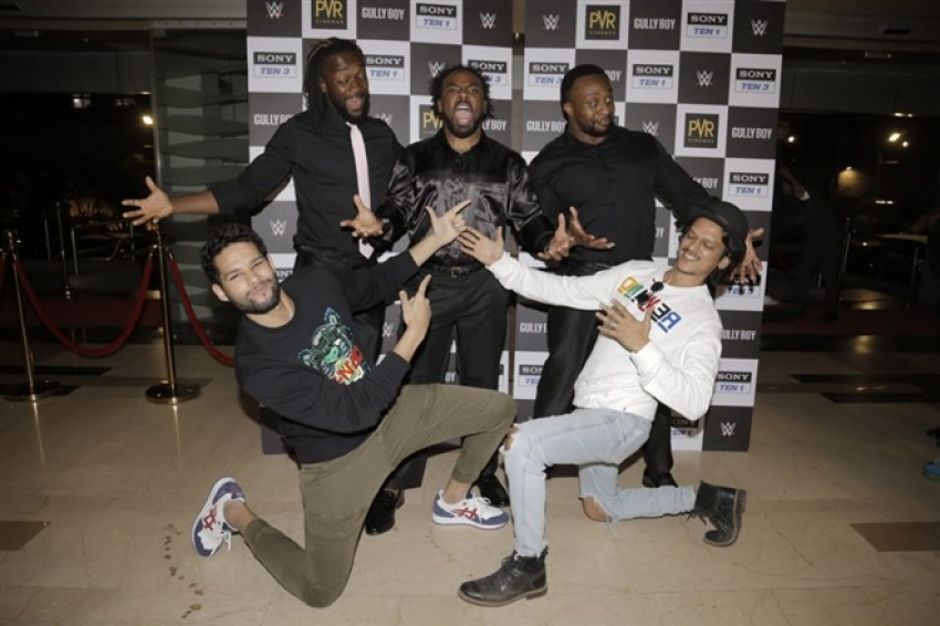 Siddhant Chaturvedi Host Gully Boy Special Screening For WWE Superstars Photos