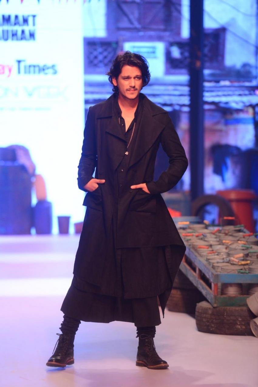 Vijay Verma Walks The Ramp At Bombay Times Fashion Week 2019 Photos