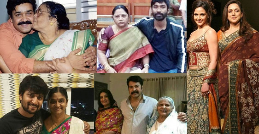 Women's Day Special 2019 - Celebs With Their Mothers Photos