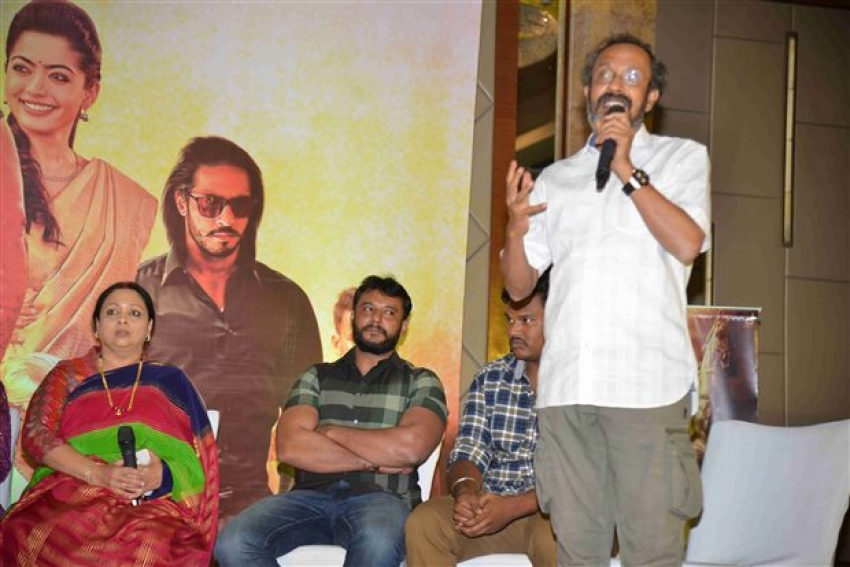 Yajamana Movie Success Meet Photos