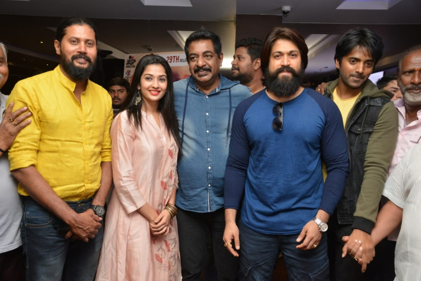 Yash Launch Yogaraj Bhatt's Panchatantra Movie Trailer Photos