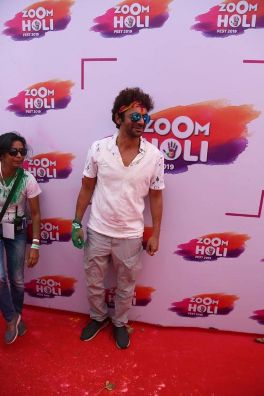 Zoom Holi Fest 2019 Photos
