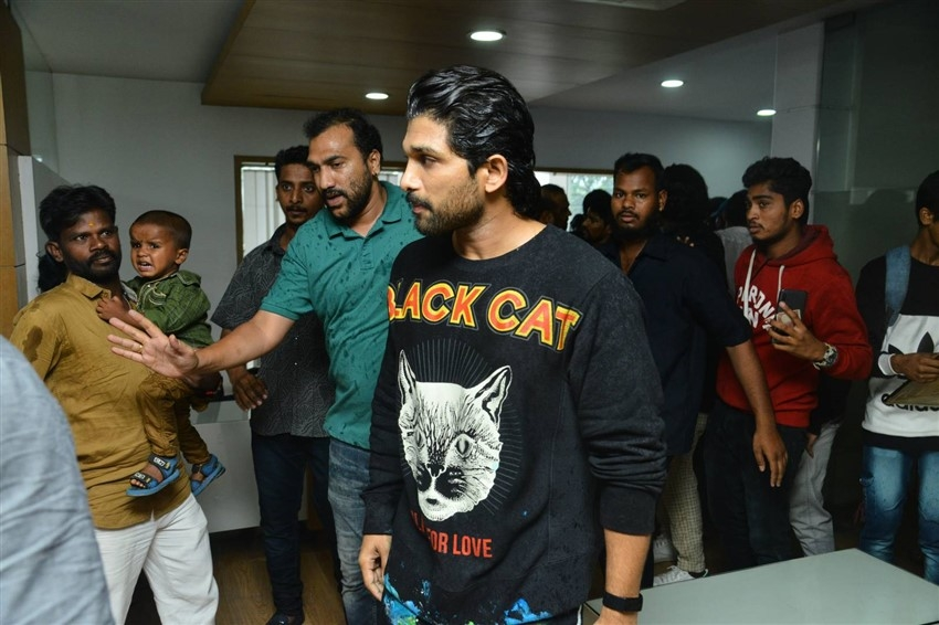 Allu Arjun Birthday Celebrations Photos