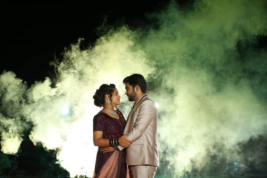 Comedy Khiladigalu Nayana Marriage Photos