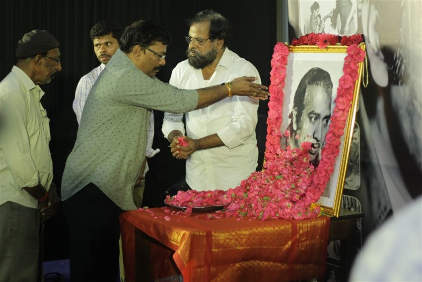 Director Mahendran's Condolence Meeting Organised By South Indian Film Photos