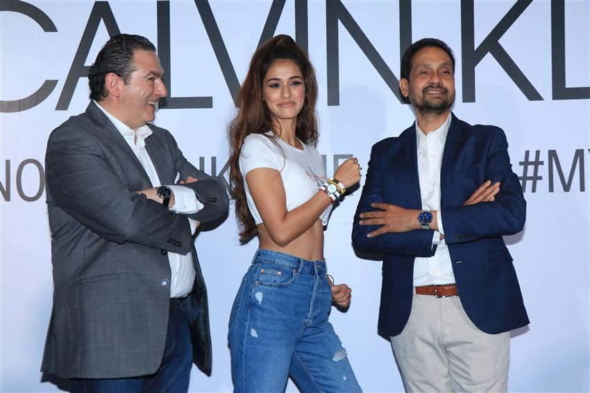 Disha Patani At Calvin Klein Watch And Jwellery Launch Photos