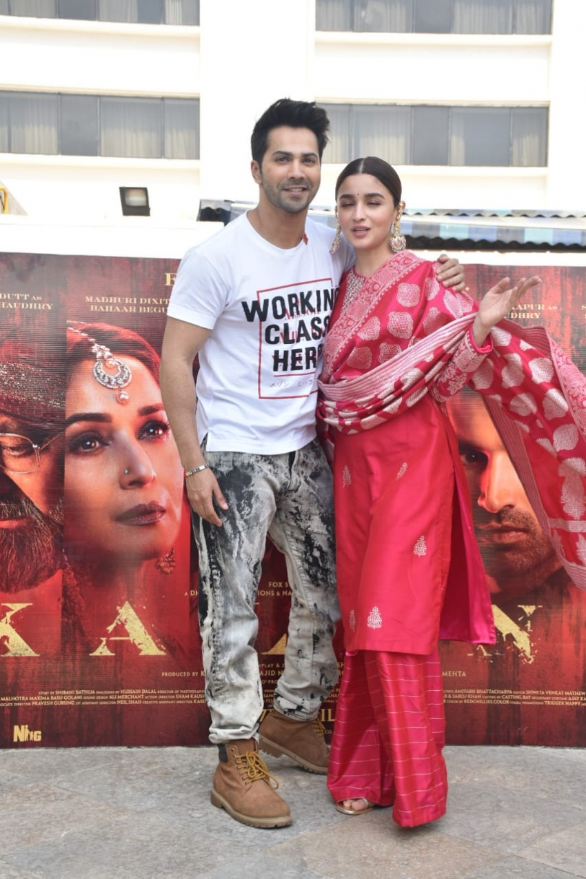 Kalank Movie Promotion In Mumbai Photos