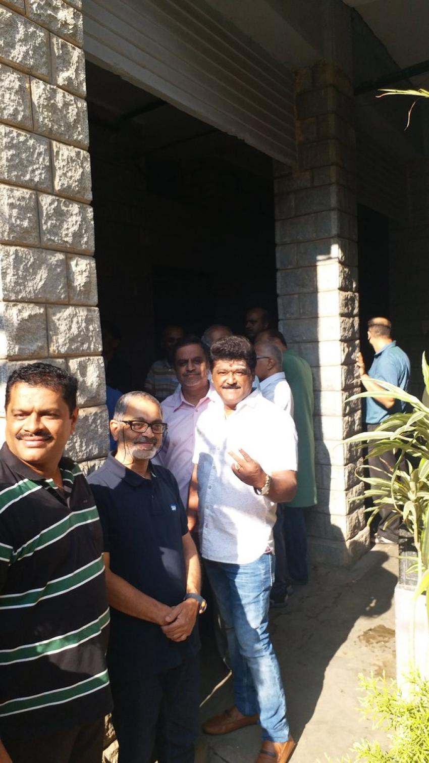 Kannada Celebrities Cast Their Votes For Lok Sabha Election 2019 Photos