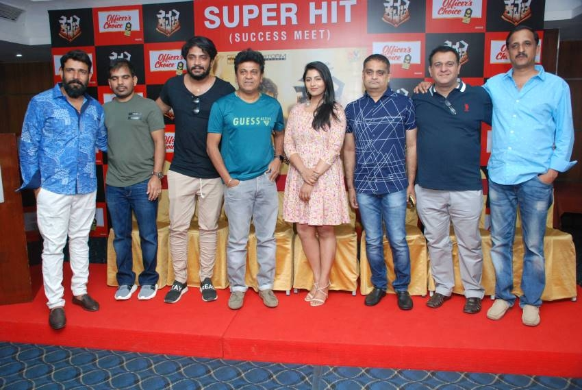 Kavacha Movie Success Meet Photos