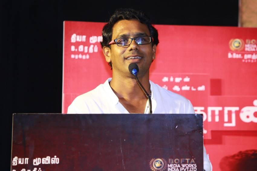 Kolaigaran Movie Trailer Launch and Press Meet Photos