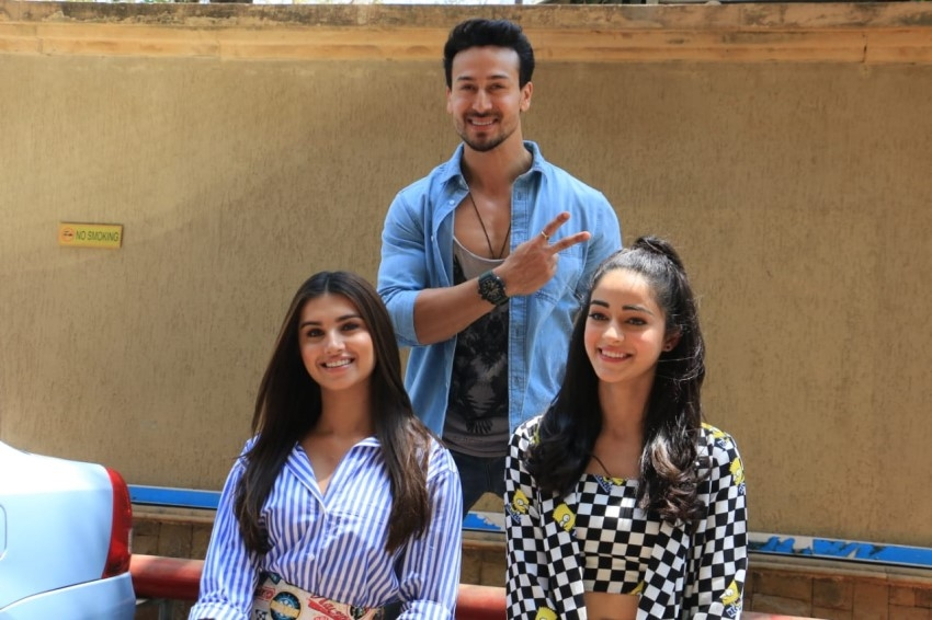 Promotional Photoshoot Of Student Of The Year 2 At JW Marriott, Mumbai Photos