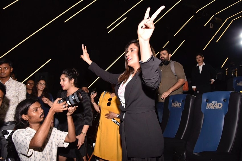 Richa Chadda For The Launch of IMAX 4D Photos
