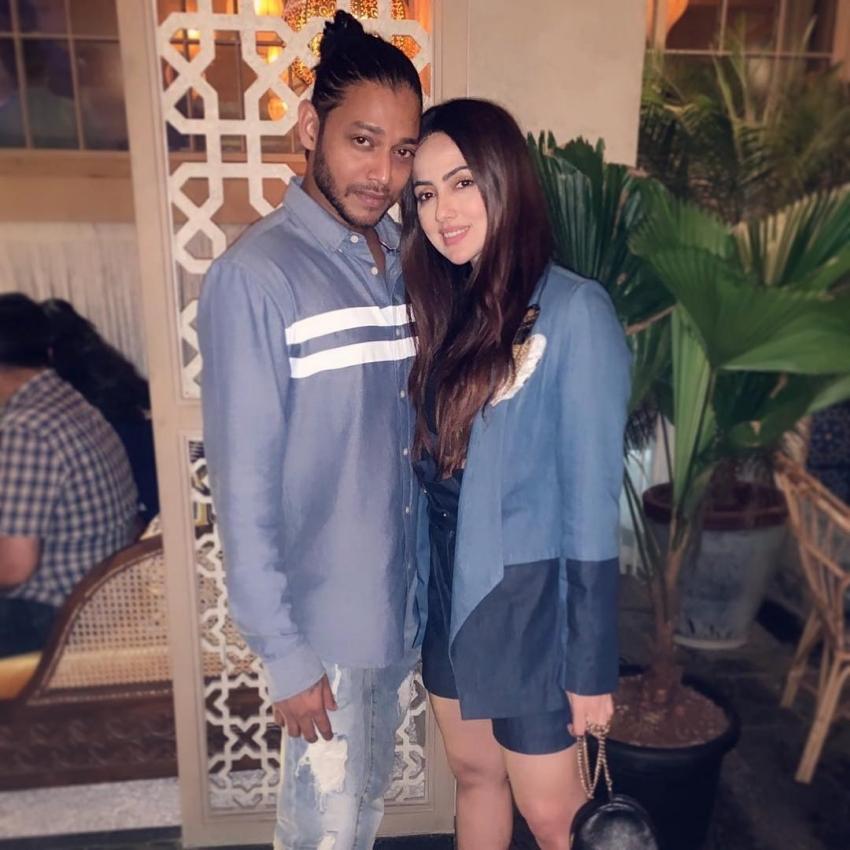 Sana Khan With Her Real-Life Boyfriend Melvin Louis Photos