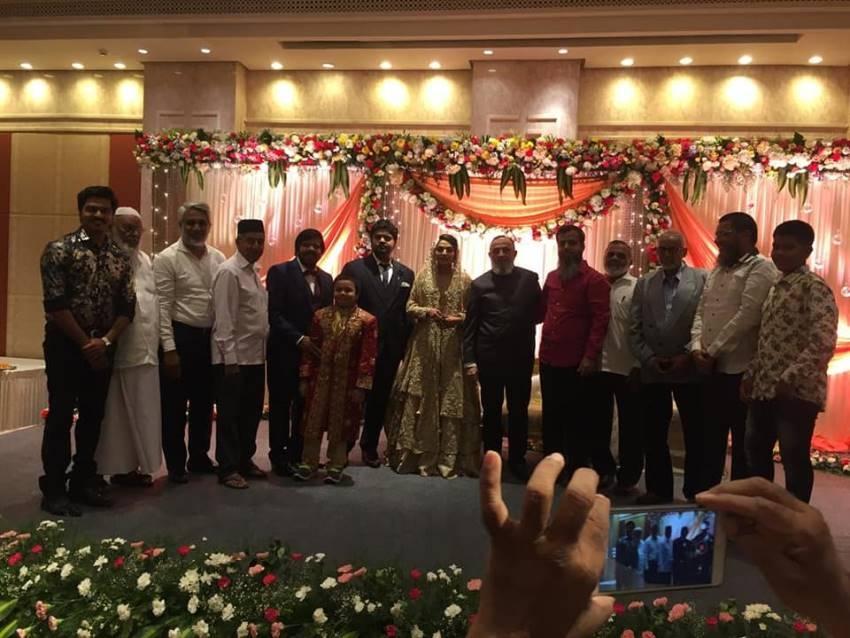 Simbu Brother Kuralarasan Marriage Photos