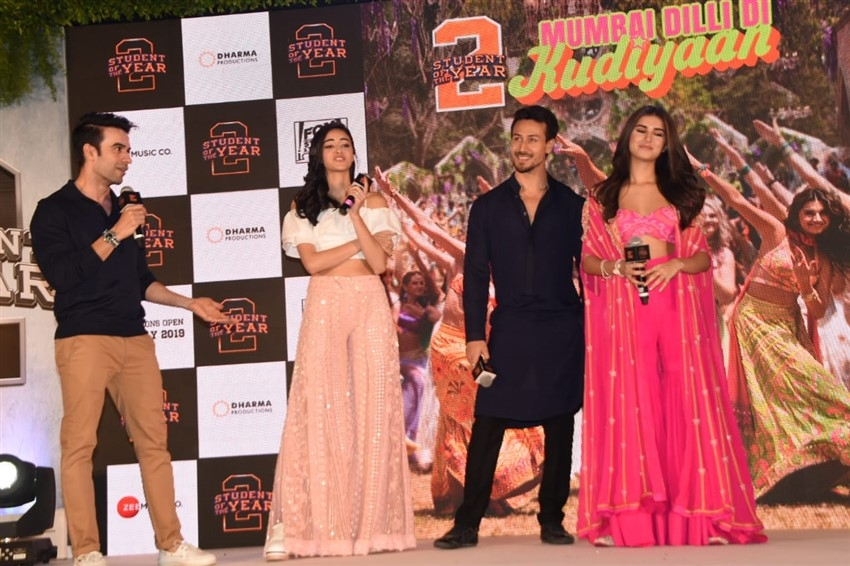 Student of the Year 2 Song launch Photos