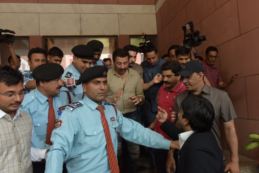 Sunny Deol joins BJP Party Photos