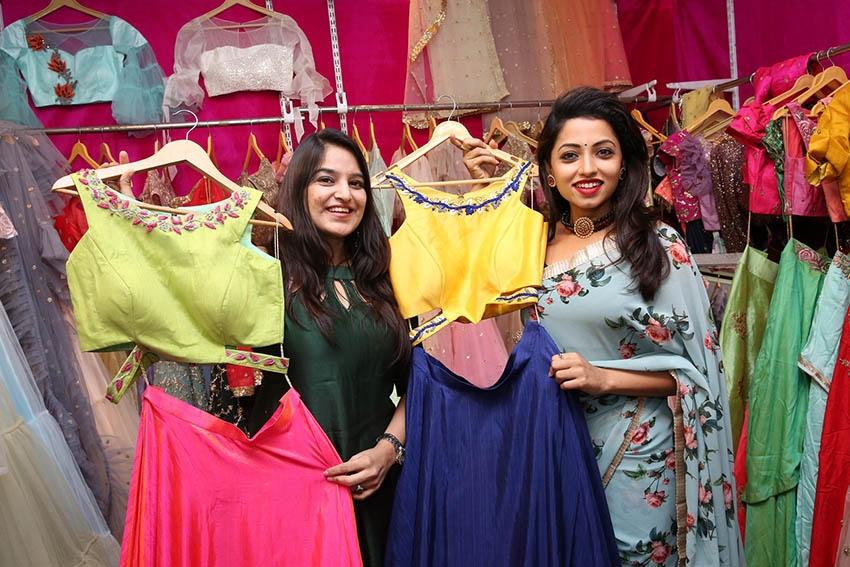 Television Actress Navya Swamy Inaugurated Trendz Expo Photos