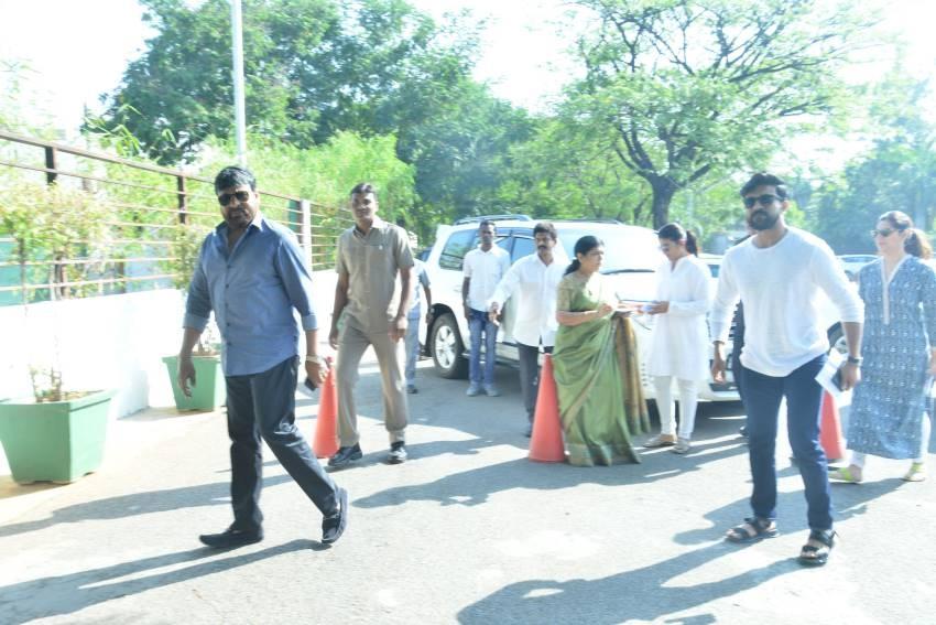 Telugu Celebrities Cast Their For Lok Sabha Election 2019 Photos