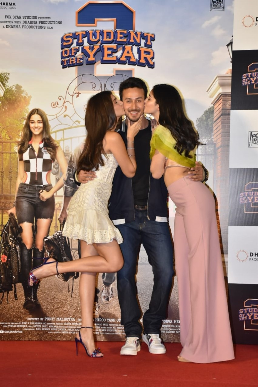 Trailer Launch Of Student of the Year 2 Photos