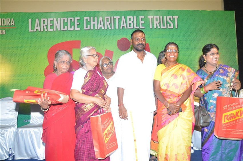 Actor Raghava Lawrence Mothers Day Special Thaai Album Song Launch Photos