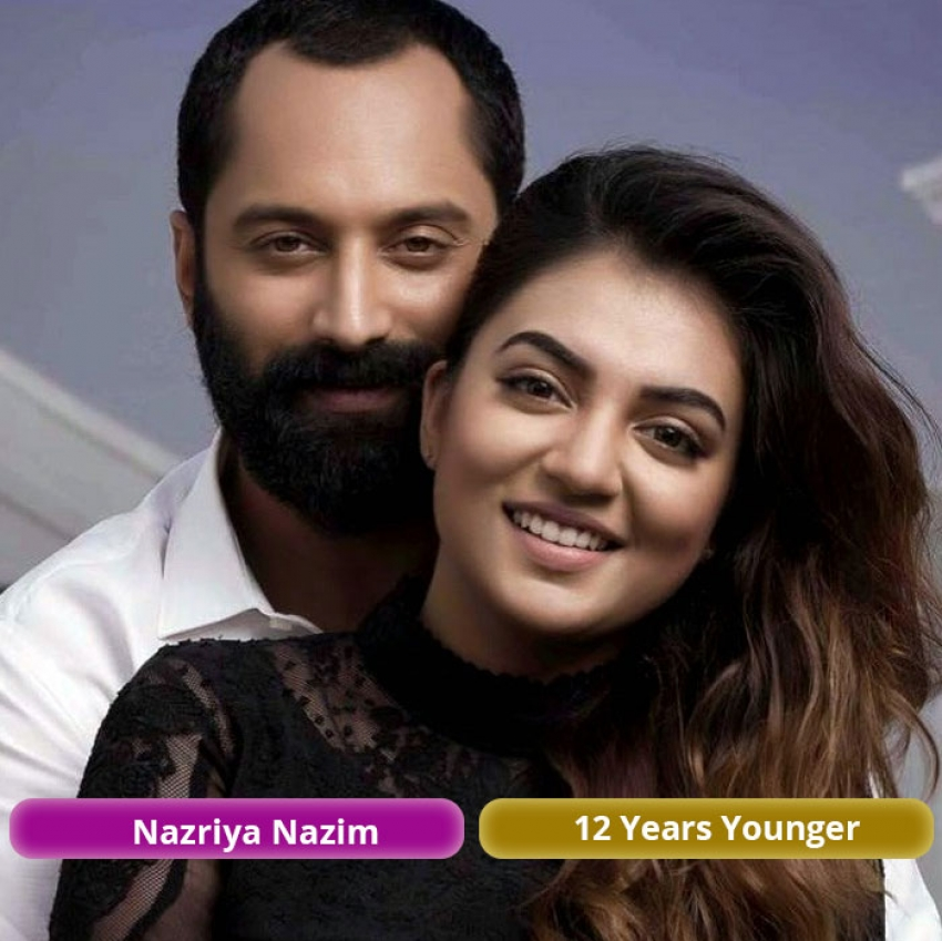 Age Gap Of Famous South Indian Couples Photos