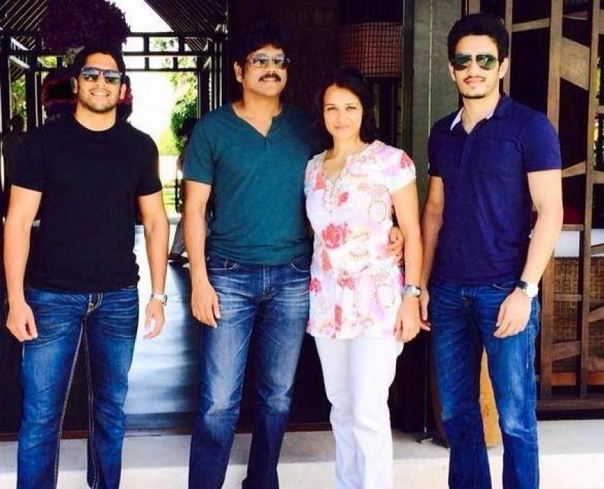 Amala Akkineni Family Photos