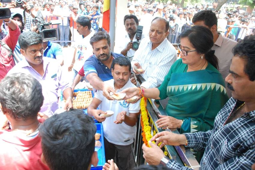 Ambareesh 67th Birth Anniversary Celebration Photos
