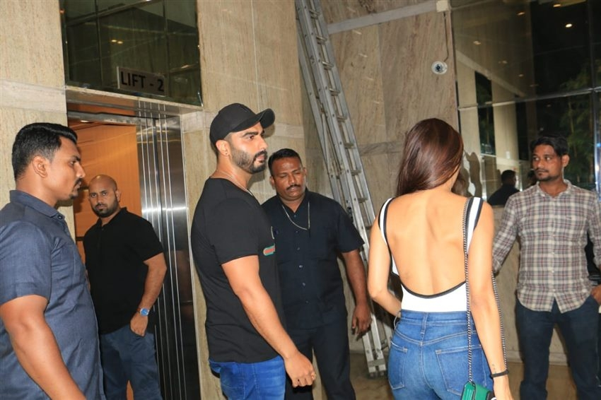Arjun Kapoor And Malaika Arora Spotted Together At Special Screening Of India's Most Wanted Photos