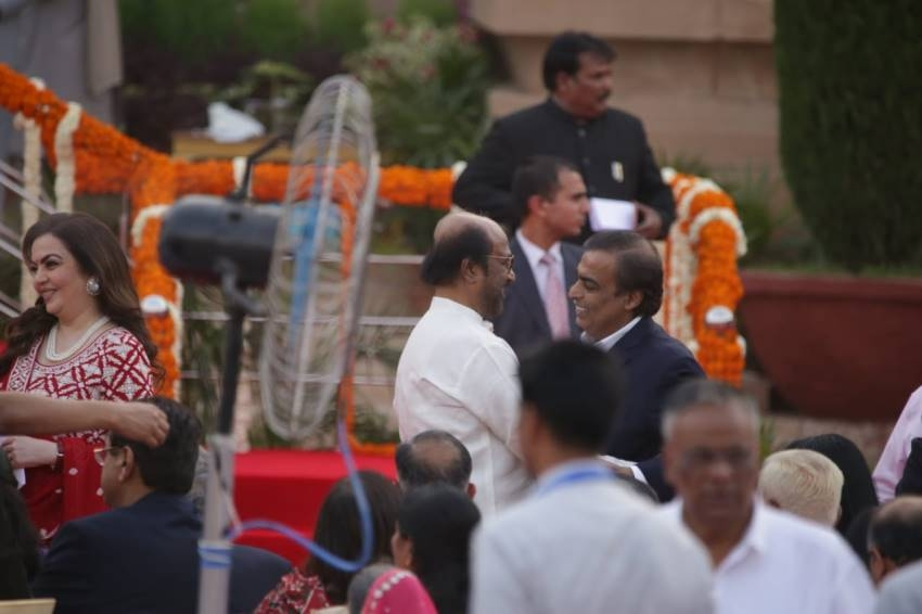 Celebs At Narendra Modi Swearing Ceremony As PM Of India Photos