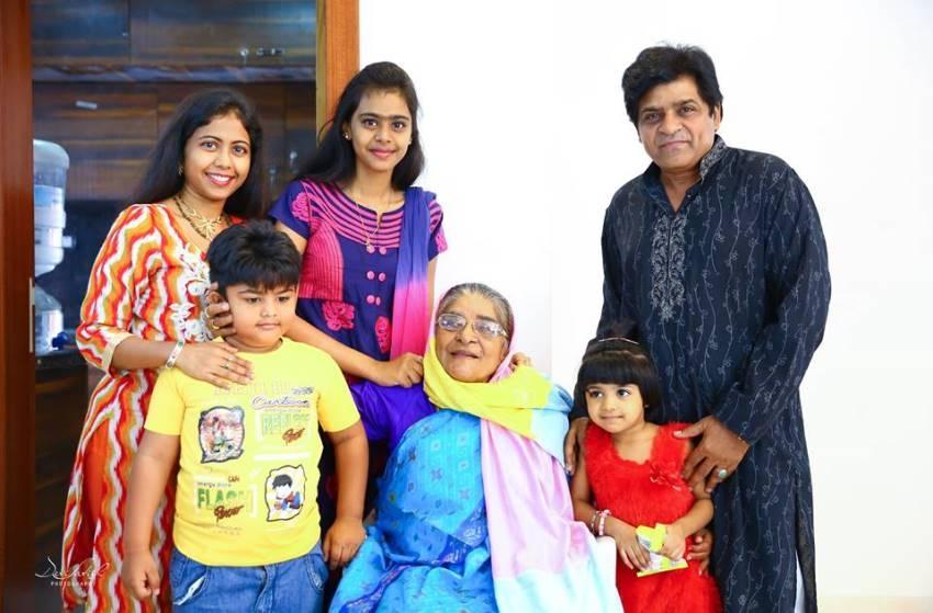 Comedy Actor Ali Family Photos