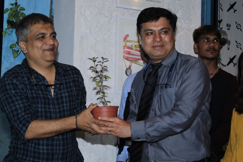 Dia Mirza and Asif Bhama at Bhamla Foundation's #Hawaaanede Shoot Photos