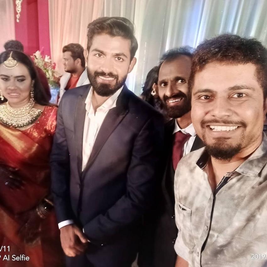 Dr. Rajkumar Grandson Yuva Rajkumar Marriage Photos